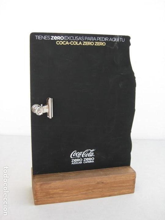 Coleccionismo de Coca-Cola y Pepsi: Expositor Coca Cola zero, zero cafeina - Foto 6 - 153720786
