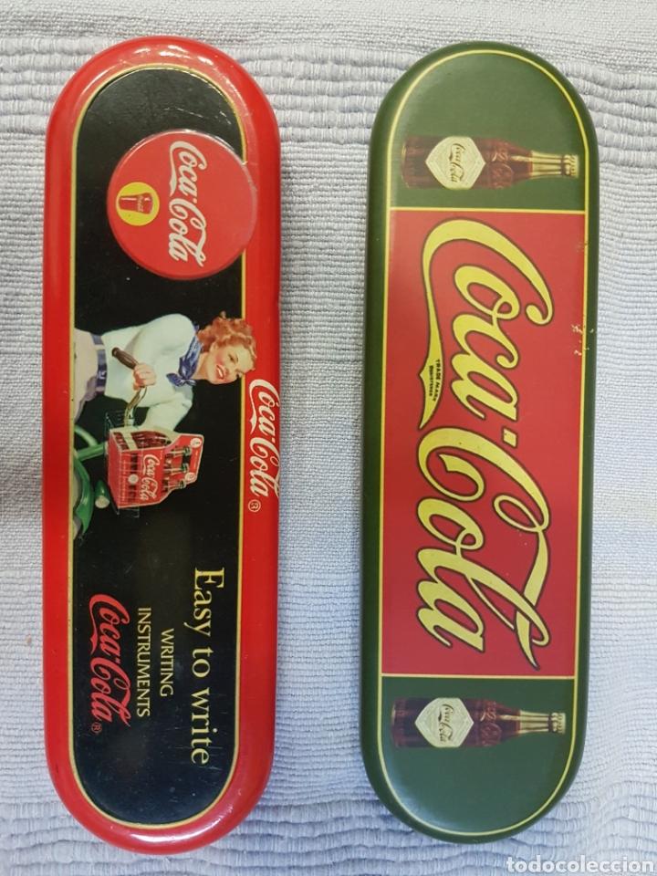 PORTA LÁPIZ COCA COLA (Coleccionismo - Botellas y Bebidas - Coca-Cola y Pepsi)