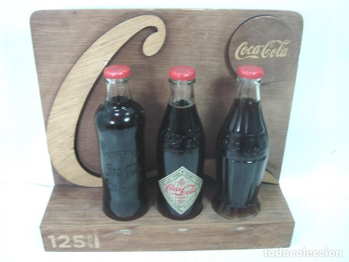 Coleccionismo de Coca-Cola y Pepsi: LOTE 13 ARTICULOS COCA-COLA -MENU GOLF LLAVERO EXPOSITOR BOTELLA 125 ANIVERSARIO..ETC COKE COCACOLA - Foto 5 - 154701346