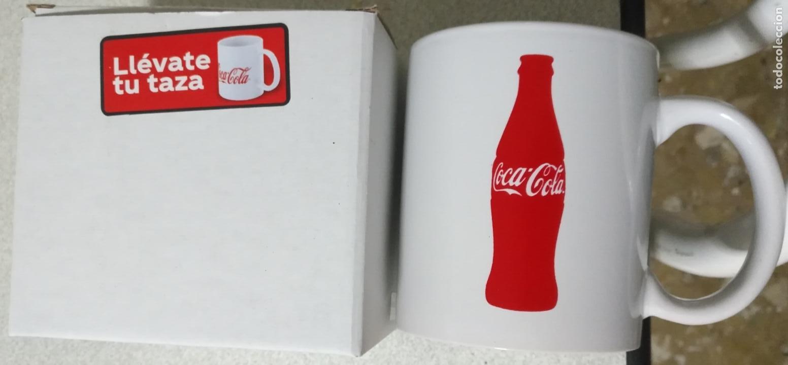 TAZA DE DESAYUNOS ORIGINAL EN CAJA NO USADA DE COCACOLA COCA COLA COCA-COLA (Coleccionismo - Botellas y Bebidas - Coca-Cola y Pepsi)