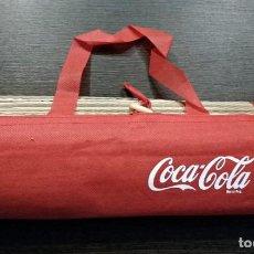 Coleccionismo de Coca-Cola y Pepsi: ESTERILLA DE PLAYA DE COCA COLA. Lote 155393694