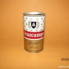 Coleccionismo de Coca-Cola y Pepsi: ANTIGUA LATA BOTE CON SOLDADURA DE CERVEZA CRUZCAMPO. Lote 155409646