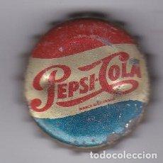 Coleccionismo de Coca-Cola y Pepsi: ANTIGUA CHAPA DE PEPSI-COLA CON CORCHO (COKE). Lote 156496970