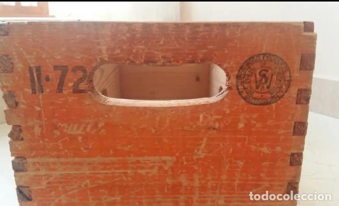 Coleccionismo de Coca-Cola y Pepsi: Antigua caja de schweppes - Foto 3 - 156545746