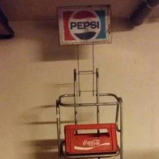 Coleccionismo de Coca-Cola y Pepsi: ANTIGUO EXPOSITOR DE PEPSI. Lote 156546438