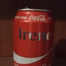 Coleccionismo de Coca-Cola y Pepsi: LATA VACÍA DE COCA-COLA · COMPARTE UNA COCA-COLA CON IRENE · AÑO 2016. Lote 156548257