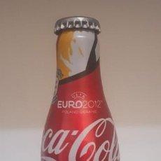 Coleccionismo de Coca-Cola y Pepsi: BOTELLA COCA COLA ALUMINIO - LLENA. Lote 159061650