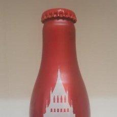 Coleccionismo de Coca-Cola y Pepsi: BOTELLA COCA COLA ALUMINIO - LLENA. Lote 159071570