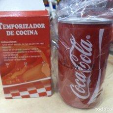 Coleccionismo de Coca-Cola y Pepsi: RELOJ TEMPORIZADOR DE COCINA COCA COLA.. Lote 159197410