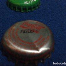 Coleccionismo de Coca-Cola y Pepsi: CHAPA COCA COLA ( AGOSTO DEL 92 ) COLLOTO ASTURIAS VER FOTOS. Lote 159291602