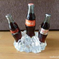 Coleccionismo de Coca-Cola y Pepsi: EXPOSITOR COCA COLA NORMAL, ZERO Y LIGHT. Lote 160158814