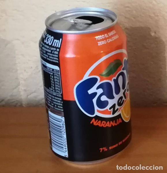 Coleccionismo de Coca-Cola y Pepsi: LATA FANTA ZERO NARANJA, EJEMPLAR DE LA FAUNA 36 EL LORO. CAN BOTE - Foto 2 - 160689166