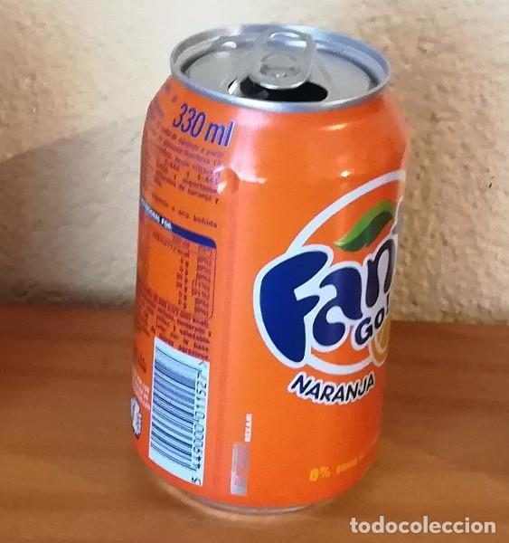 Coleccionismo de Coca-Cola y Pepsi: LATA FANTA NARANJA, EJEMPLAR DE LA FAUNA 6 LA FIESTAS. CAN BOTE - Foto 2 - 160689486