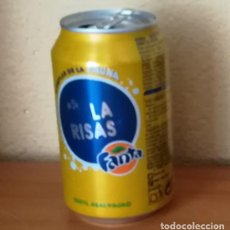 Coleccionismo de Coca-Cola y Pepsi: LATA FANTA LIMON, EJEMPLAR DE LA FAUNA 54 LA RISAS. CAN BOTE. Lote 160689802