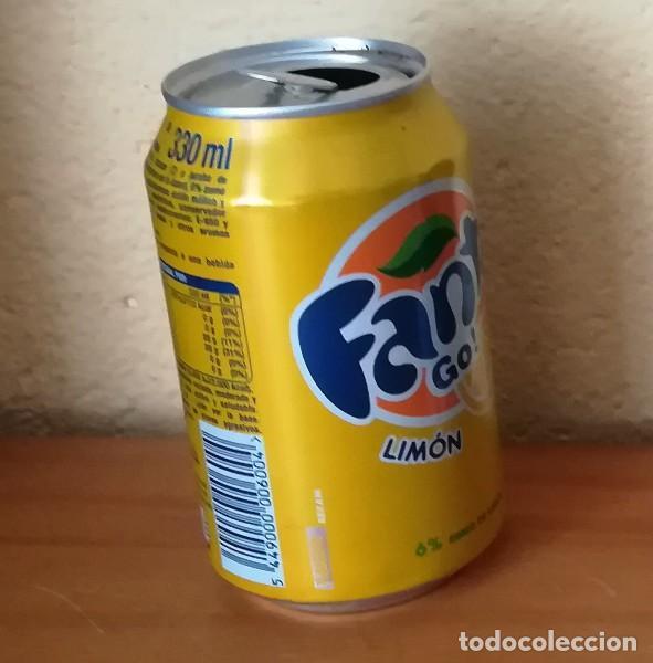 Coleccionismo de Coca-Cola y Pepsi: LATA FANTA LIMON, EJEMPLAR DE LA FAUNA 54 LA RISAS. CAN BOTE - Foto 2 - 160689802