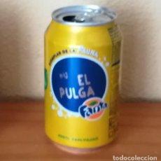 Coleccionismo de Coca-Cola y Pepsi: LATA FANTA LIMON, EJEMPLAR DE LA FAUNA 43 EL PULGA. CAN BOTE. Lote 160689862