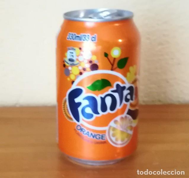 LATA FANTA ORANGE. KENYA CAN BOTE NARANJA AFRICA (Coleccionismo - Botellas y Bebidas - Coca-Cola y Pepsi)