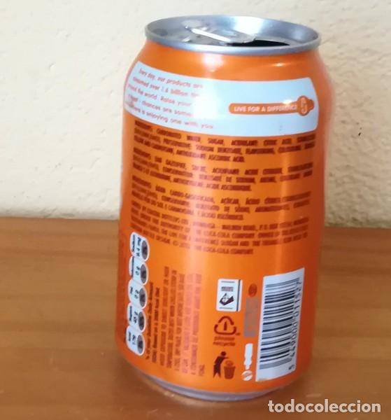 Coleccionismo de Coca-Cola y Pepsi: LATA FANTA ORANGE. KENYA CAN BOTE NARANJA AFRICA - Foto 3 - 160690566