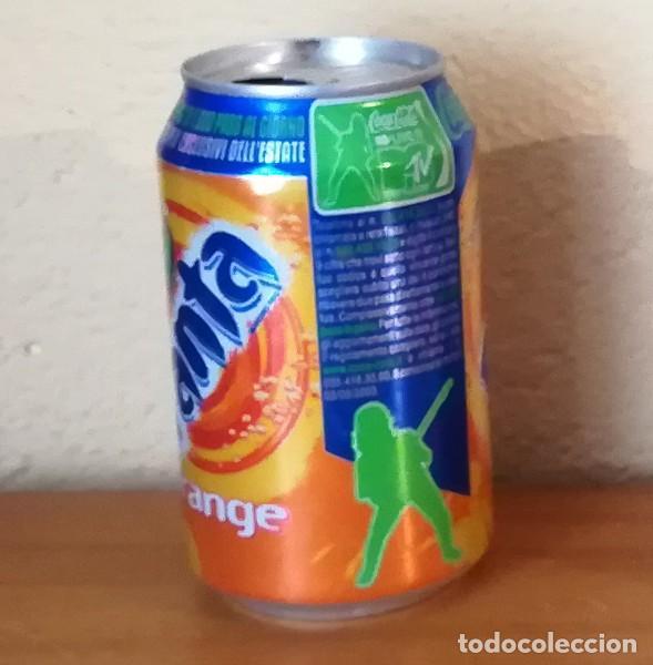 Coleccionismo de Coca-Cola y Pepsi: LATA FANTA ORANGE LIVE MTV. FRANCIA CAN BOTE NARANJA - Foto 2 - 160690626