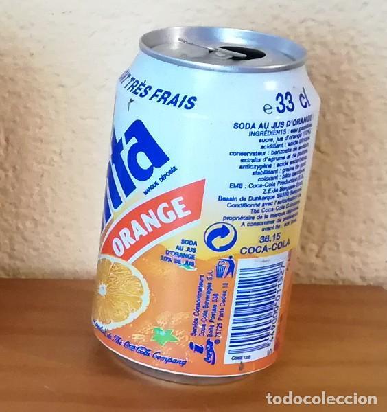 Coleccionismo de Coca-Cola y Pepsi: LATA FANTA ORANGE. FRANCIA CAN BOTE NARANJA - Foto 2 - 160690810