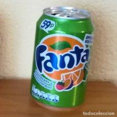 Coleccionismo de Coca-Cola y Pepsi: LATA FANTA RASPBERRY & PASSIONFRUIT. UK CAN BOTE SPECIAL EDITION 59P FRAMBUESA. Lote 160691258