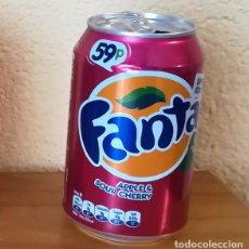 Coleccionismo de Coca-Cola y Pepsi: LATA FANTA APPLE & SOUR CHERRY. UK CAN BOTE SPECIAL EDITION 59P MANZANA. Lote 160691322