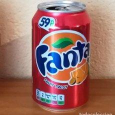 Coleccionismo de Coca-Cola y Pepsi: LATA FANTA FRUIT TUIST. UK CAN BOTE 59P. Lote 160691370