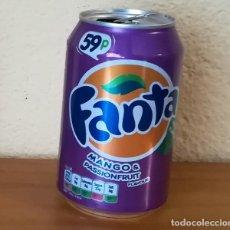 Coleccionismo de Coca-Cola y Pepsi: LATA FANTA MANGO & PASSIONFRUIT. UK CAN BOTE 59P. Lote 160691450