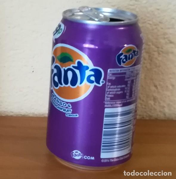 Coleccionismo de Coca-Cola y Pepsi: LATA FANTA MANGO & PASSIONFRUIT. UK CAN BOTE 59P - Foto 2 - 160691450