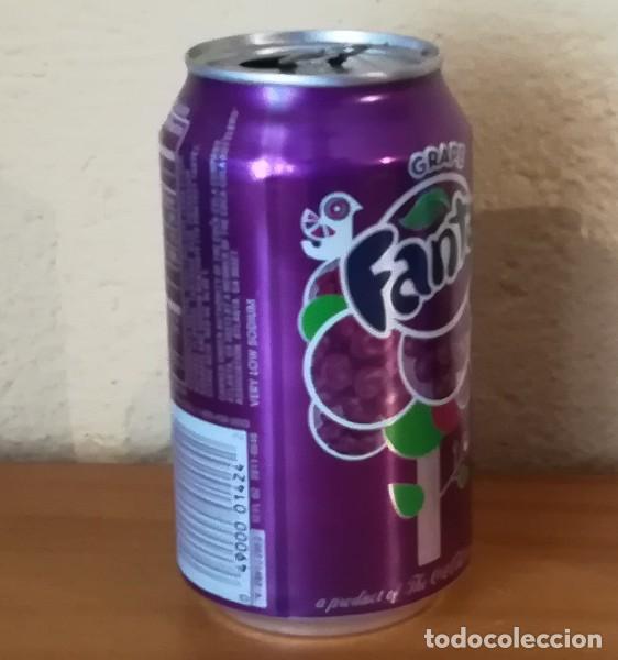 Coleccionismo de Coca-Cola y Pepsi: LATA FANTA GRAPE. USA CAN BOTE UVA ETIQUETA IMPORTACION - Foto 2 - 160691506