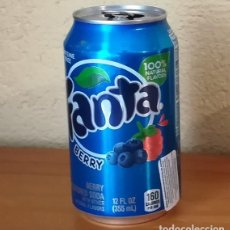 Coleccionismo de Coca-Cola y Pepsi: LATA FANTA BERRY. USA CAN BOTE FRUTOS ROJOS ETIQUETA IMPORTACION. Lote 160691550