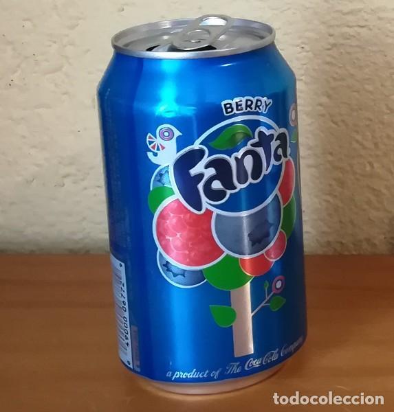 Coleccionismo de Coca-Cola y Pepsi: LATA FANTA BERRY. USA CAN BOTE FRUTOS ROJOS ETIQUETA IMPORTACION - Foto 2 - 160691550