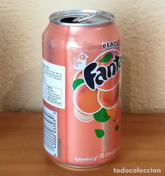 Coleccionismo de Coca-Cola y Pepsi: LATA FANTA PEACH. USA CAN BOTE MELOCOTON ETIQUETA IMPORTACION - Foto 2 - 160691702