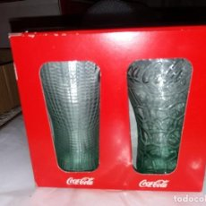 Coleccionismo de Coca-Cola y Pepsi: 2 VASOS COCA COLA. Lote 160837730