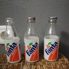 Coleccionismo de Coca-Cola y Pepsi: LOTE BOTELLIN DE FANTA NARANJA ETIQUETA. Lote 160961968