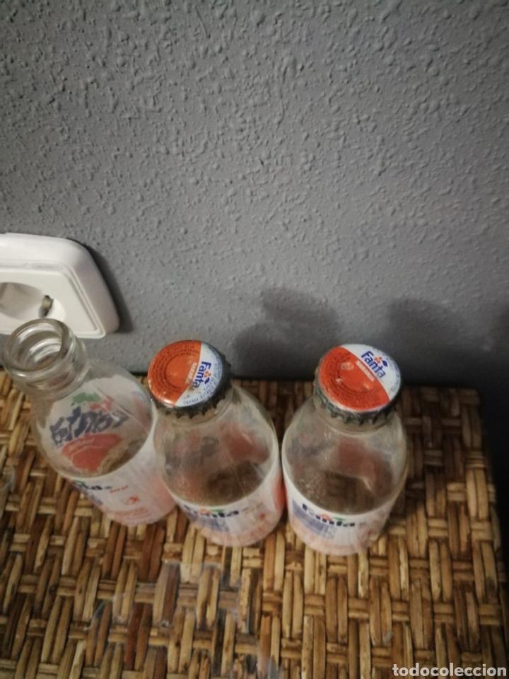 Coleccionismo de Coca-Cola y Pepsi: Lote Botellin de Fanta naranja etiqueta - Foto 3 - 160961968