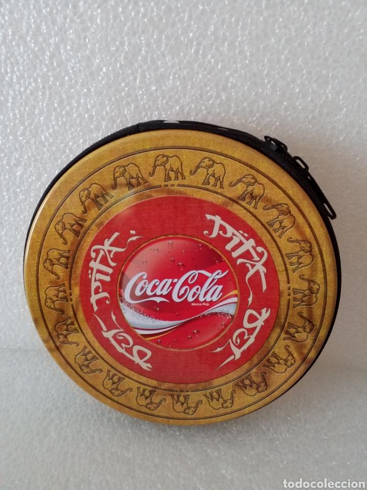 PORTA CD'S COCA COLA. (Coleccionismo - Botellas y Bebidas - Coca-Cola y Pepsi)