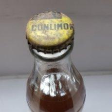 Coleccionismo de Coca-Cola y Pepsi: BOTELLA ANTIGUA ESPUMOSOS GAL LLENA Y CON CHAPA RARA. Lote 162330408