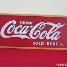 Coleccionismo de Coca-Cola y Pepsi: PLACA DE COCA COLA. Lote 164592830