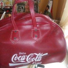 Coleccionismo de Coca-Cola y Pepsi: ANTIGUA BOLSA DE DEPORTES DE COCA-COLA.. Lote 164692348