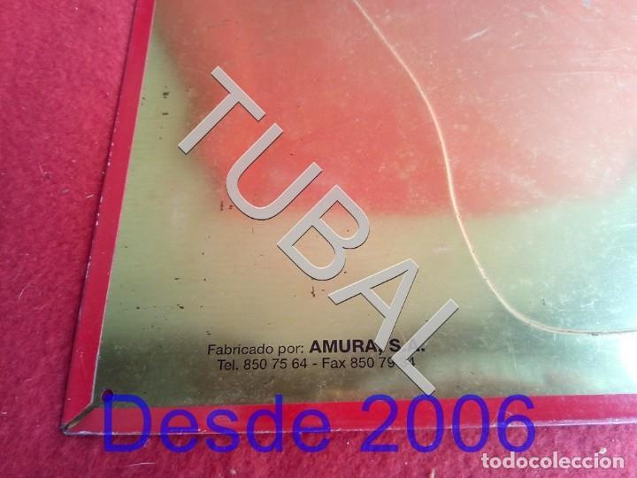 Coleccionismo de Coca-Cola y Pepsi: TUBAL chapa placa COCA COLA MAPA ESPAÑA GRANDE - Foto 4 - 164869774