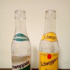 Coleccionismo de Coca-Cola y Pepsi: BOTELLAS SCHEWEPPES. Lote 165274372