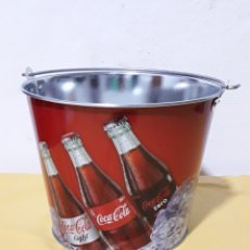 Coleccionismo de Coca-Cola y Pepsi: CUBO DE COCA-COLA DE CIM 19CM. Lote 165542757