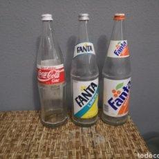 Coleccionismo de Coca-Cola y Pepsi: LOTE DE FANTA COCACOLA ETIQUETA DE LITRO. Lote 165574364