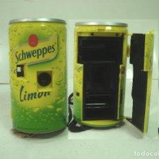 Coleccionismo de Coca-Cola y Pepsi: CAMARA FOTOS PUBLICIDAD-SCHWEPPES LIMON ¡¡ M.B.E ¡¡¡ BOTE 35MM LATA 35 MM BOTE 2. Lote 166114014
