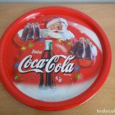 Coleccionismo de Coca-Cola y Pepsi: BANDEJA NAVIDAD COCA-COLA. AÑOS 80. Lote 166196210