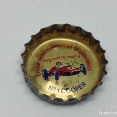 Coleccionismo de Coca-Cola y Pepsi: CHAPA CORONA FANTA - PROMOCION COCHES - RARA Y DIFICIL - AÑOS 60. Lote 166931764