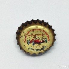 Coleccionismo de Coca-Cola y Pepsi: CHAPA CORONA FANTA - PROMOCION COCHES - RARA Y DIFICIL - AÑOS 60. Lote 166931944