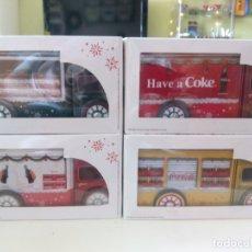 Coleccionismo de Coca-Cola y Pepsi: CAMIONES NAVIDAD COCACOLA. Lote 168328960
