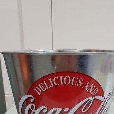 Coleccionismo de Coca-Cola y Pepsi: CUBO CUBITERA COCA COLA. Lote 249298775